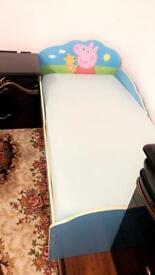 Peppa Pig Toddler Bed Cube & Mattress