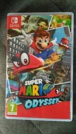 For Trade: Super Mario Odyssey for Splatoon 2 [Switch]