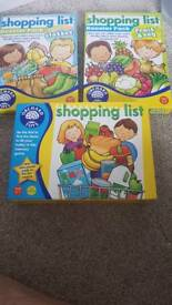 Orchard toys shopping list and booster pack