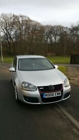 2.0 VW Golf TD GTI 2008 Model MK5 5DR 6 Gears Fully Loaded Leather Seats