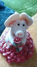 'Piggin' love' ornament