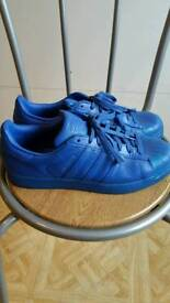 Adidas superstar blue size 10
