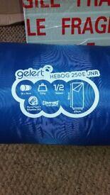 For Sale Brand New Gelert Heboh 250E Junior Sleeping Bag