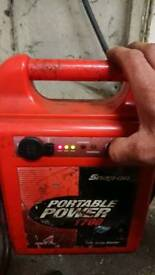 Snap on booster pack