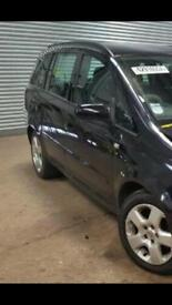 Vauxhall Zafira 08 plate breaking for parts