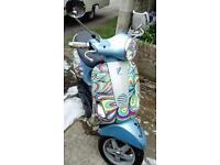 50 CC Vespa Scooter
