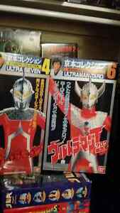 Japanese  ultraman kyomoto collection figures and more. ..