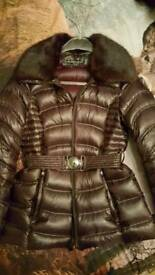 Designer Dawn Levy down winter jacket Size S