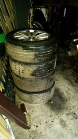 5 series bmw 17 inch wheels and tyres