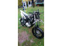 Yamaha wr125x 2014