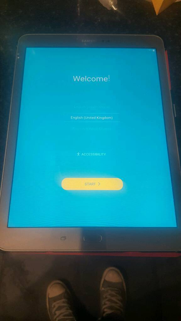 "Gold samsung galaxy TAB S2 9 7"" 32gb wifi"