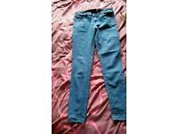 7 pairs of womans jeans size 12