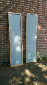 Pax wardrobe frosted glass doors FREE