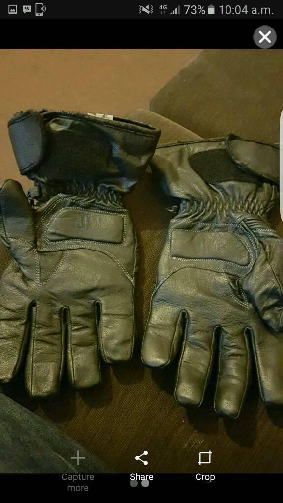 Buffalo motorbike gloves xxl