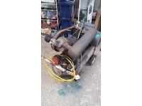 Atlas KE twin cylinder compressor