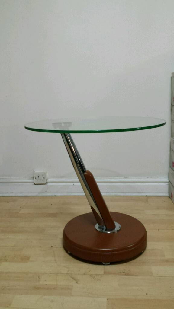 Z Shaped Side Table