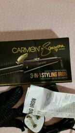 Carmen 3 in 1 styling iron