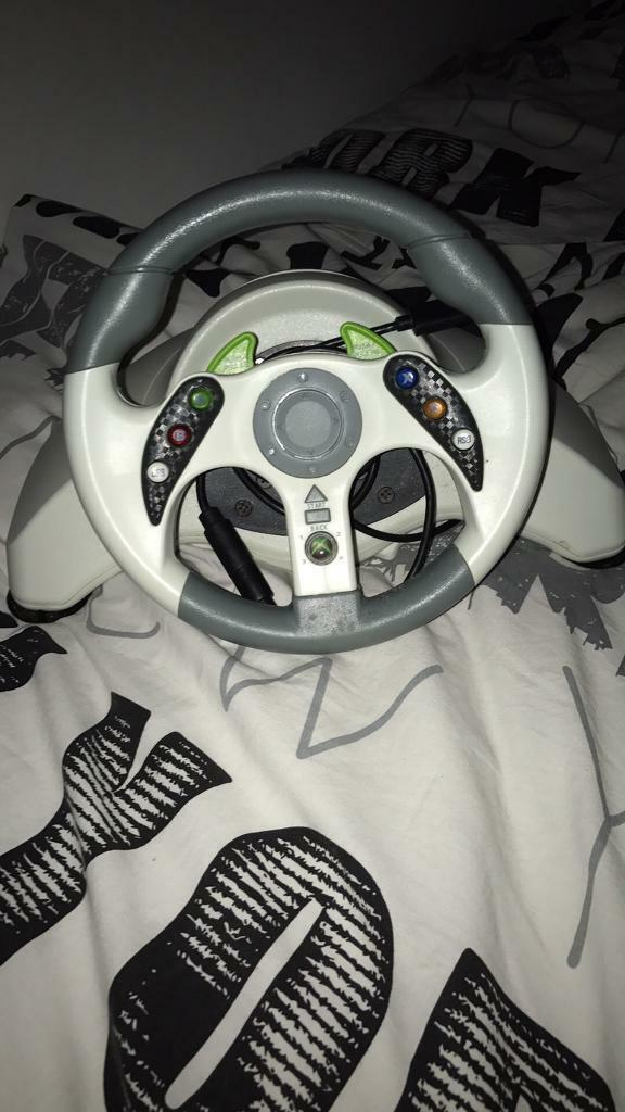 Xbox 360/one steering wheel