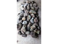 Mixture of Rockery Stones