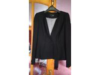 Black women's smart jacket- Next petite, size 10