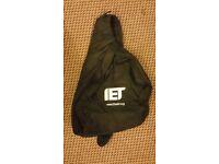 One shoulder IET black backpack