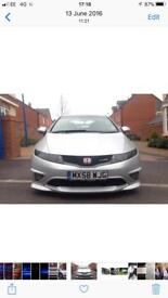 Honda Civic type r. Not r32 golf