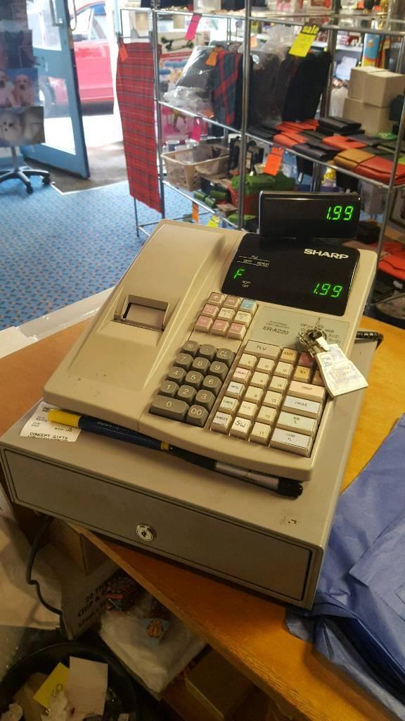 SHARP ELECTRONUIC CASH REGISTER.ER-A220