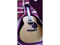 Acoustic 12 fret slothead hand built guitar