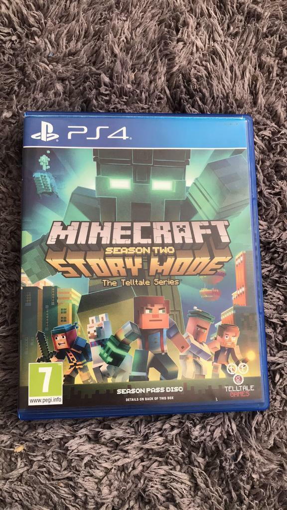 Minecraft story mode 2 (PS4) | in Armthorpe, South Yorkshire | Gumtree