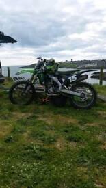 Kxf250 2013 motocross bike scrambler mx dirt