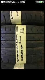 215/45/17 87V Continental Sport Contact3 Tyre
