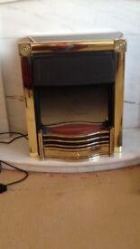 Dimplex Brass Inset Electric Fire
