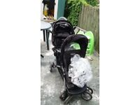 Selling Graco Double Pram in reasonably good condition