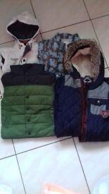 Boys jackets 12-24 months