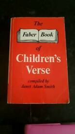 "Must Go | ""The Faber Book of Children's Verse"" 