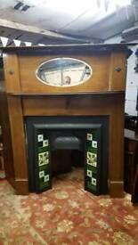 Fire suround fireplace