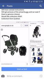 Mothercare Xpidior travel system
