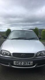 Toyota Corolla full years mot