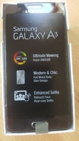 Samsung Galaxy A3 Boxed and Unlocked - REDUCED