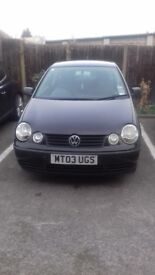 Immaculate Polo, Good Tyres, Sound Engine and Gear Box. £600 or ONO. Call Kelvin on 075655709.