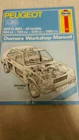Haynes manual Peugeot 104 73-83