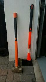Heavy duty Hammer and Axe for sale
