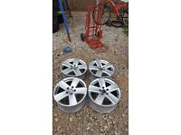 Volkswagen 17 Inch Alloy Wheels