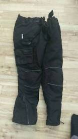 Weise motorcycle all weather trousers
