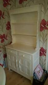 Welsh solid oak dresser