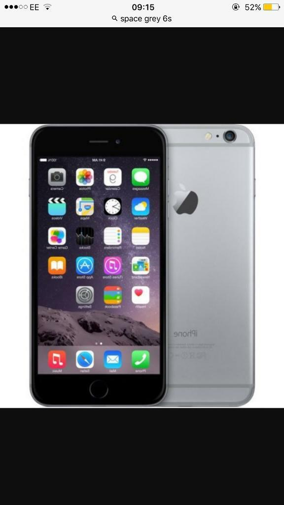 iPhone 6s grey black colourin Walton le Dale, LancashireGumtree - 128 gb02 network Excellent condition Minor scratch on front screen Fully working condition