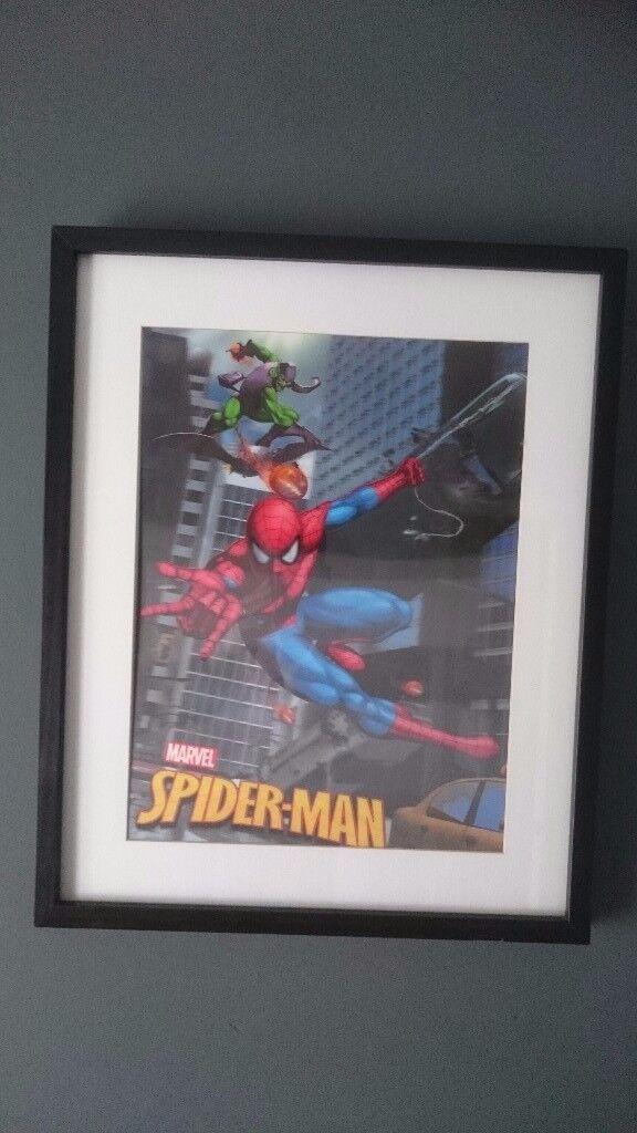 3D Spiderman picture