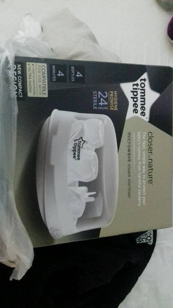 Brand new Tommee Tippee microwave steriliser