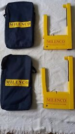 Milenco compact wheel clamps (2 available)