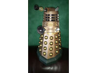 """Dr Who 12"""" r/c controlled gold Dalek"""